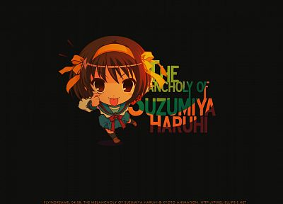 The Melancholy of Haruhi Suzumiya, anime girls, Suzumiya Haruhi - related desktop wallpaper