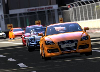 video games, cars, Audi, Gran Turismo 5 - related desktop wallpaper
