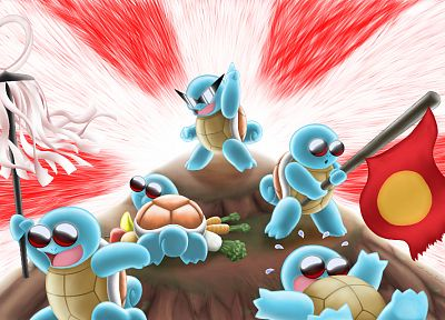 Pokemon, Squirtle - random desktop wallpaper