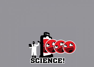science, Awesome Face - desktop wallpaper