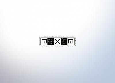 minimalistic, symbols - desktop wallpaper