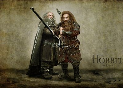 dwarfs, The Hobbit, Oin, Gloin - random desktop wallpaper