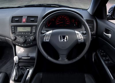 Honda, cars, vehicles, dashboards, car interiors, steering wheel - related desktop wallpaper