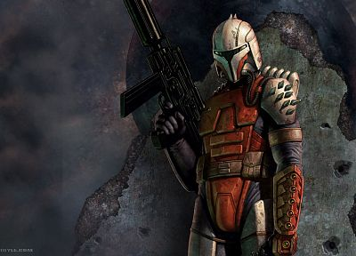 Star Wars, Mandalorian - random desktop wallpaper