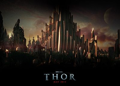 movies, Marvel Comics, Asgard, Thor (movie) - related desktop wallpaper