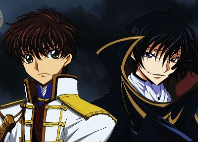 Code Geass, Kururugi Suzaku, Lamperouge Lelouch - related desktop wallpaper