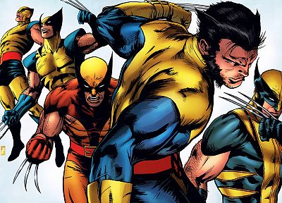 Wolverine, Marvel Comics - desktop wallpaper