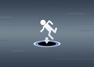 Portal - related desktop wallpaper