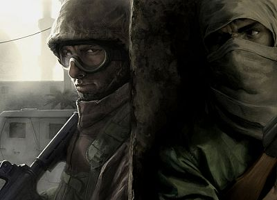 soldiers, video games, war - random desktop wallpaper