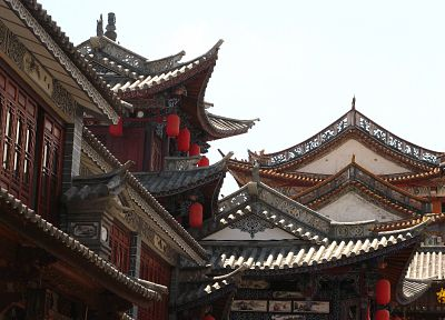 China, Asian architecture - random desktop wallpaper
