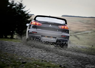 cars, Mitsubishi, vehicles, Lancer Evo X - related desktop wallpaper