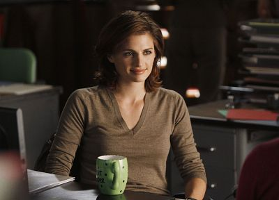 women, Stana Katic, Castle TV Series, Kate Beckett - newest desktop wallpaper