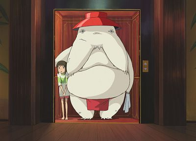 monsters, Spirited Away, Ogino Chihiro, Studio Ghibli - related desktop wallpaper