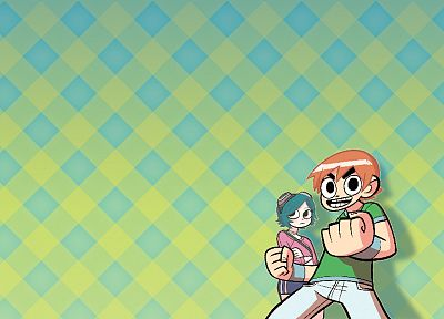 Scott Pilgrim, Ramona Flowers - desktop wallpaper