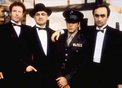 The Godfather, Marlon Brando, Al Pacino, James Caan - random desktop wallpaper