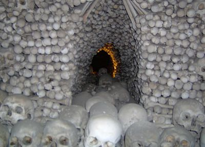 skulls, architecture, churches, Prague, Czech Republic, bones - related desktop wallpaper