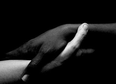 black and white, palm, hands - random desktop wallpaper
