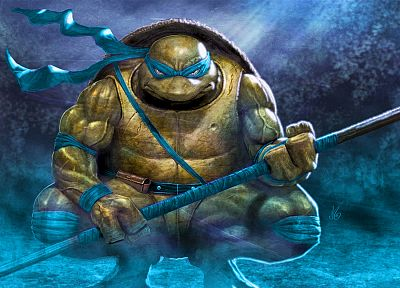 Teenage Mutant Ninja Turtles, Leonardo - related desktop wallpaper