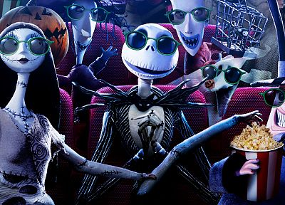 Jack Skellington, The Nightmare Before Christmas - related desktop wallpaper