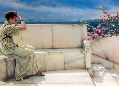 women, artwork, Lawrence Alma-Tadema - random desktop wallpaper