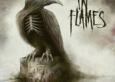 music, In Flames, album covers - related desktop wallpaper