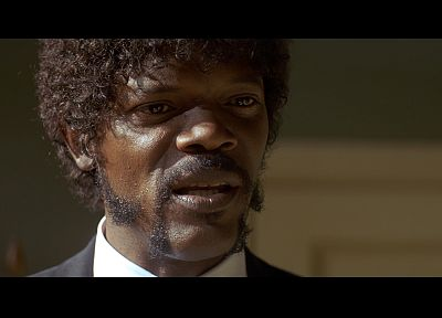 Pulp Fiction, screenshots, Samuel L. Jackson - related desktop wallpaper