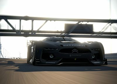 video games, cars, vehicles, Gran Turismo 5, Playstation 3, GT by Citroën - related desktop wallpaper