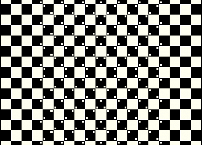 monochrome, optical illusions - random desktop wallpaper
