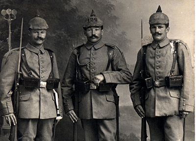 soldiers, World War I, helmets, German Armed Forces - related desktop wallpaper