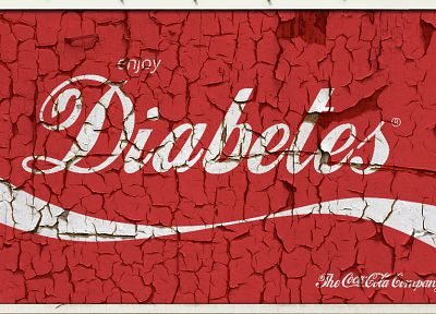 text, Coca-Cola, cocaine, diabetes - desktop wallpaper