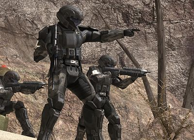 video games, Halo, Halo ODST, UNSC - random desktop wallpaper