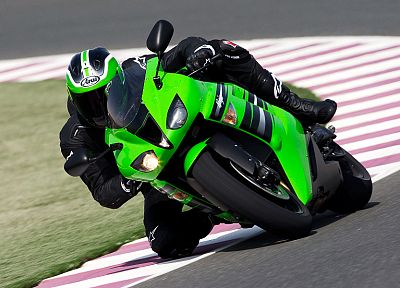 Kawasaki, vehicles, motorbikes, motorcycles - desktop wallpaper