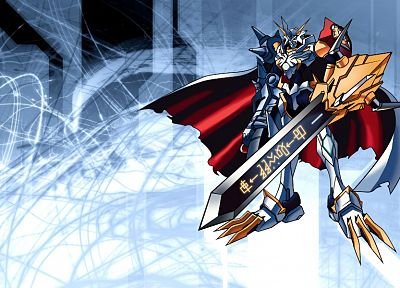 Digimon, Omnimon - random desktop wallpaper