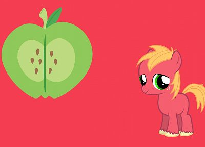 My Little Pony, big macintosh - desktop wallpaper