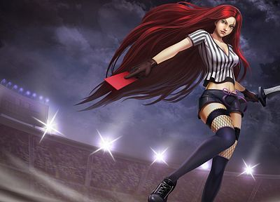 League of Legends, Katarina the Sinister Blade - random desktop wallpaper