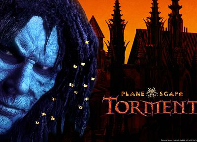 Planescape Torment, The Nameless One - random desktop wallpaper