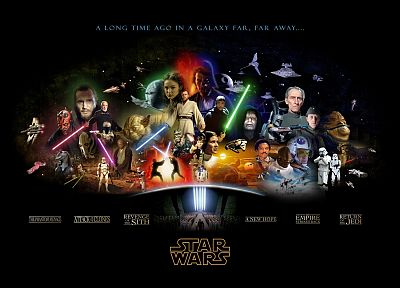 Star Wars, stormtroopers, C3PO, Darth Maul, lightsabers, Darth Vader, Boba Fett, Death Star, R2D2, Luke Skywalker, Han Solo, Chewbacca, Hoth, Leia Organa, Anakin Skywalker, Yoda, Jar Jar Binks, Obi-Wan Kenobi, Mace Windu, Jabba the Hutt, black background - desktop wallpaper