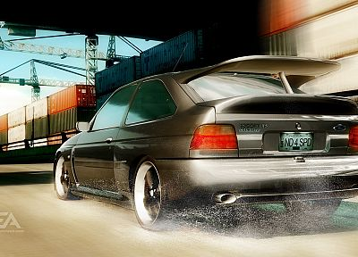 video games, cars, Need for Speed, Need For Speed Undercover, Ford Escort, games, pc games - random desktop wallpaper