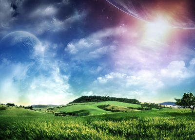 abstract, nature, fields, skyscapes - related desktop wallpaper