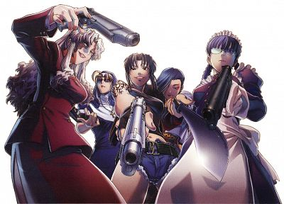 Black Lagoon - random desktop wallpaper