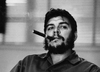 Che, Communist, grayscale, Che Guevara, cigars - related desktop wallpaper