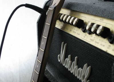 music, guitars, marshall - related desktop wallpaper