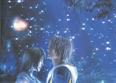 Final Fantasy, video games, Yuna, Tidus, Final Fantasy X - desktop wallpaper