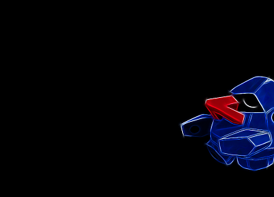 Pokemon, black background - desktop wallpaper