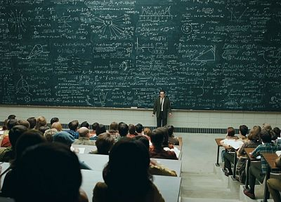 geek, nerd, school, classroom, physics, college, teachers, quantum physics, chalkboards, equation, A Serious Man, professor - newest desktop wallpaper