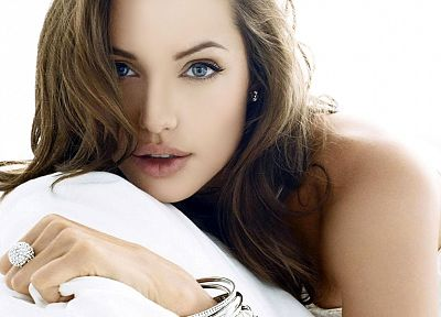 women, actress, Angelina Jolie - random desktop wallpaper