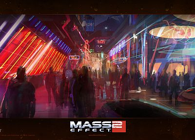 BioWare, Mass Effect 2 - random desktop wallpaper