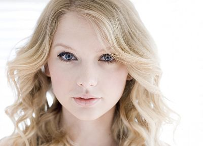 blondes, women, Taylor Swift, celebrity, singers, faces - desktop wallpaper