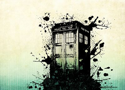 TARDIS, Doctor Who - desktop wallpaper