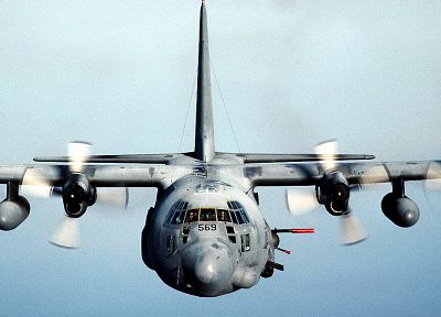 aircraft, military, AC-130 Spooky/Spectre - random desktop wallpaper